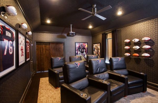 5 Media Rooms For Every Football Fan